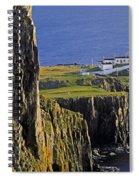 Light On The Rock Spiral Notebook