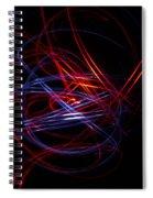 Light Painting 1 Spiral Notebook