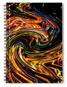 Light Painting 2 Spiral Notebook