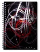 Light Painting 3 Spiral Notebook