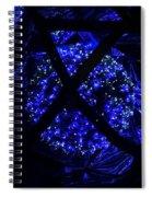 light show in Kronach 3 Spiral Notebook
