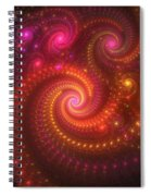 Light Show Spiral Notebook