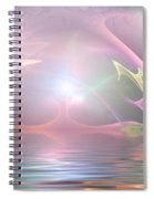 Light Source Spiral Notebook