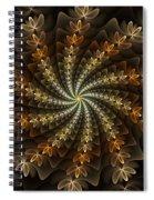 Light Spiral Spiral Notebook