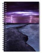 Light Symphony Spiral Notebook