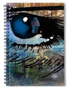 Light The Corners Of My Mind Spiral Notebook