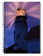 Light Up The Ocean And Sky Spiral Notebook