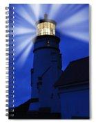 Light Up The Sea Spiral Notebook