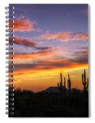 Light Up The Sky Southwest Style  Spiral Notebook