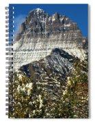 Light White Blanket Spiral Notebook