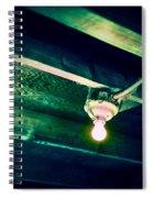 Lightbulb And Cobwebs Spiral Notebook