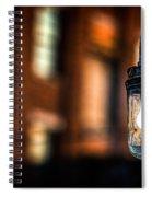 Lightbulb Bates Mill #5 Spiral Notebook