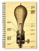 Lightbulb Patent Spiral Notebook