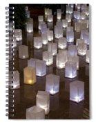 Lighted Lantern Bags Spiral Notebook