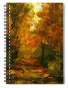 Lighted Trail Spiral Notebook