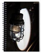 Lighted Way Spiral Notebook