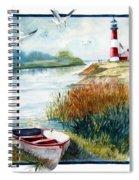 Lighthouse 1 Spiral Notebook