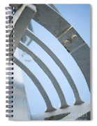 Lighthouse Abstract Spiral Notebook