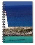 Lighthouse Along Coast Of Paradise Island Bahamas Spiral Notebook
