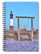 Lighthouse And Swing Spiral Notebook