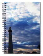 Lighthouse At Cape May Nj Spiral Notebook