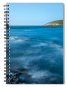 Lighthouse At Penmon Point Spiral Notebook