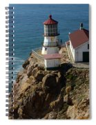Lighthouse At Point Reyes Spiral Notebook