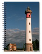 Lighthouse At Ouistreham Spiral Notebook