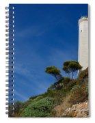 Lighthouse At Saint-jean-cap-ferrat France French Riviera Spiral Notebook