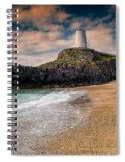 Lighthouse Beach Spiral Notebook