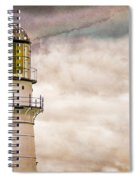 Lighthouse Cape Elizabeth Maine Spiral Notebook