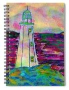 Lighthouse Digital Color Spiral Notebook