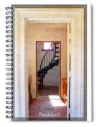 Lighthouse Door Spiral Notebook