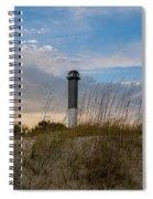 Lighthouse Dunes Spiral Notebook