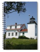Lighthouse Fort Point Spiral Notebook