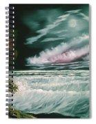 Lighthouse Glow Spiral Notebook