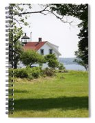 Lighthouse Hidden Behind Trees Spiral Notebook