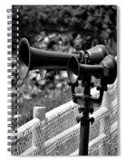 Lighthouse Horns Spiral Notebook
