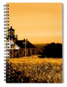 Lighthouse In Autumn Spiral Notebook