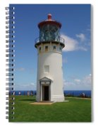 Lighthouse In Paradise Spiral Notebook