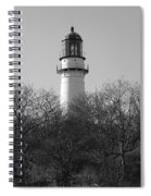 Lighthouse In Trees Spiral Notebook