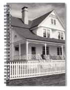 Lighthouse Keepers House  Spiral Notebook