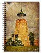Lighthouse - La Coruna Spiral Notebook