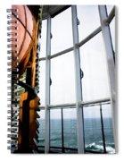 Lighthouse Lens Spiral Notebook