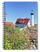 Lighthouse Of Maine Spiral Notebook