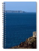 Lighthouse On The Coast, Phare Du Petit Spiral Notebook