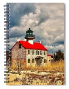 Lighthouse On The Delaware Spiral Notebook