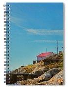 Lighthouse Park Spiral Notebook