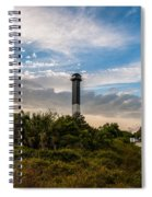 Lighthouse Pathway Spiral Notebook