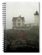 Lighthouse - Photo Watercolor Spiral Notebook